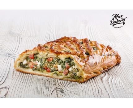 Пирог с брынзой и шпинатом