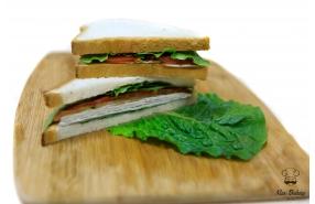 Сэндвич с окороком в/к